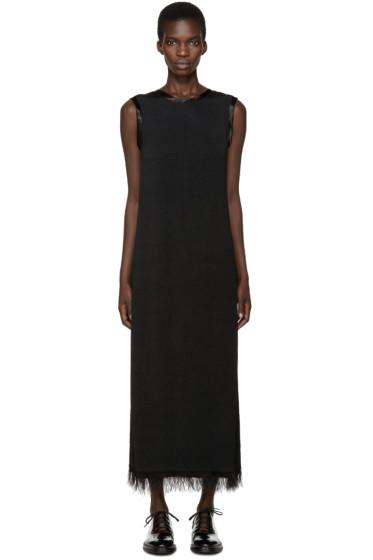 Calvin Klein Collection - Black Fringed Gaia Dress