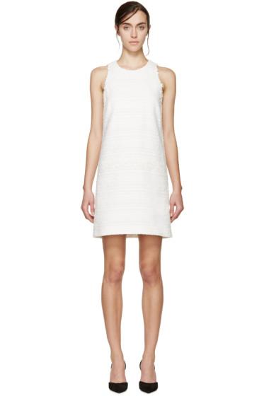 Giambattista Valli - White Tweed Floral Lace Dress