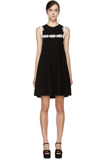 Giambattista Valli - Black & White Floral Lace Dress