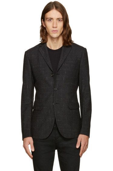 Dsquared2 - Grey Check Kyoto Blazer