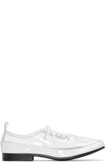 Comme des Garçons - Clear & White PVC Derbys