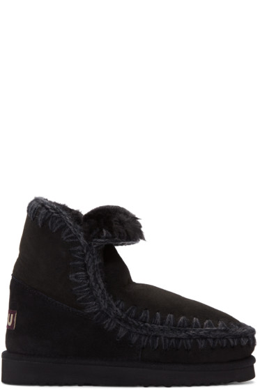 Mou - Black Eskimo 18 Boots