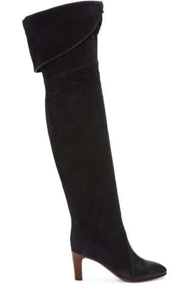 Chloé - Black Kole Over-the-Knee Boots
