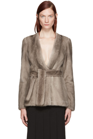 Brock Collection - Taupe Mink Faye Jacket