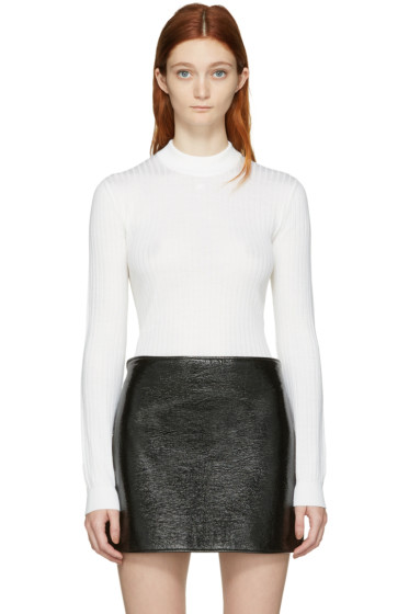 Courrèges - Ivory Classic Turtleneck