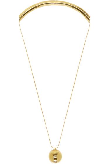 Prim by Michelle Elie - Gold Damia Necklace