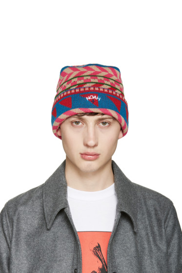 Noah NYC - Multicolor Fair Isle Beanie