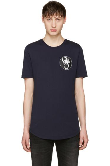 Diesel Black Gold - Navy Scorpio T-Shirt