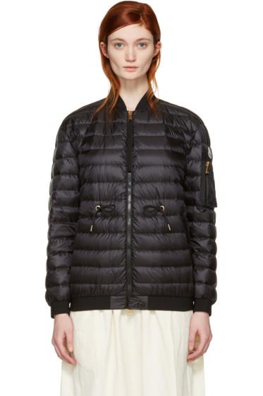 Moncler - Black Down Gauffre Jacket