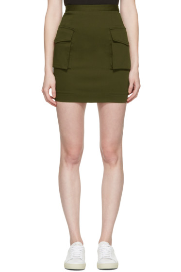 Dsquared2 - Green Cargo Skirt