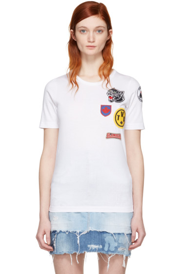 Dsquared2 - White Patches T-Shirt