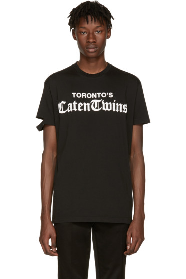 Dsquared2 - Black 'Toronto Caten Twins' T-Shirt