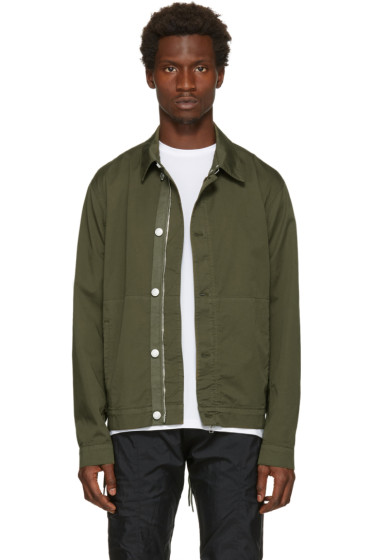 Helmut Lang - Green Side Laced Jacket