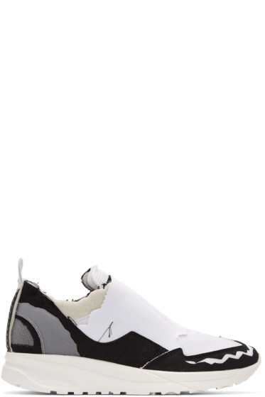 Maison Margiela - White Destroyed Sneakers