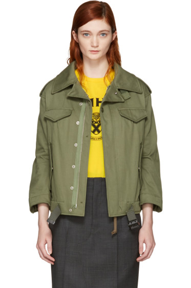Junya Watanabe - Green Military Jacket