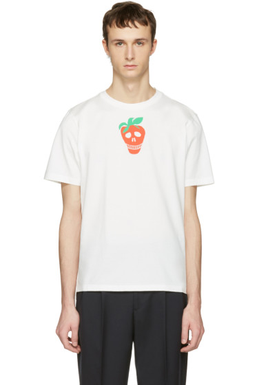 Paul Smith - White Strawberry Skull T-Shirt