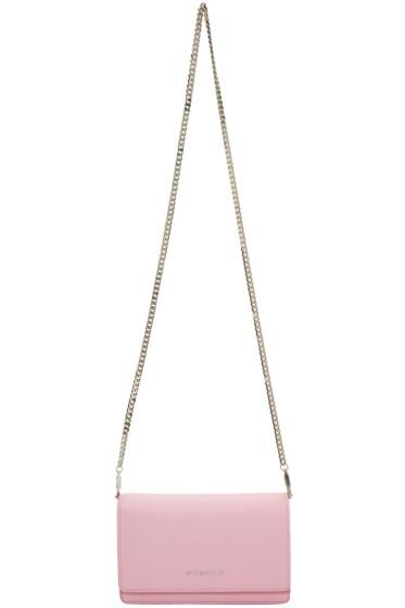 Givenchy - Pink Pandora Chain Wallet Bag