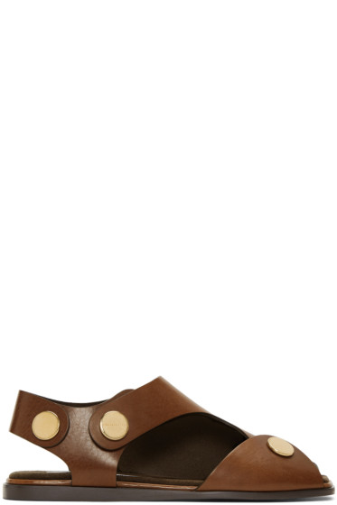 Stella McCartney - Tan Cowper Sandals