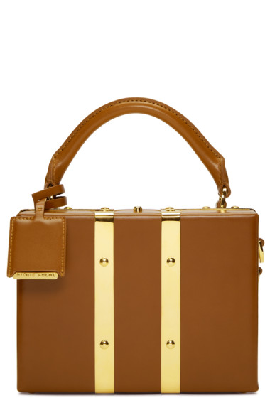Sophie Hulme - Tan Mini Albany Suitcase Bag