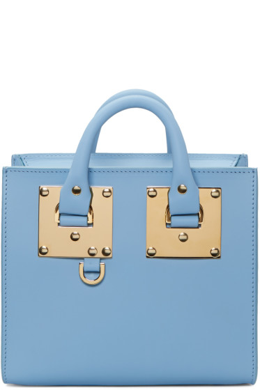 Sophie Hulme - SSENSE Exclusive Blue Albion Box Tote