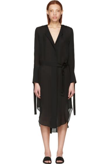 Calvin Klein Collection - Black Leryn Shirt Dress
