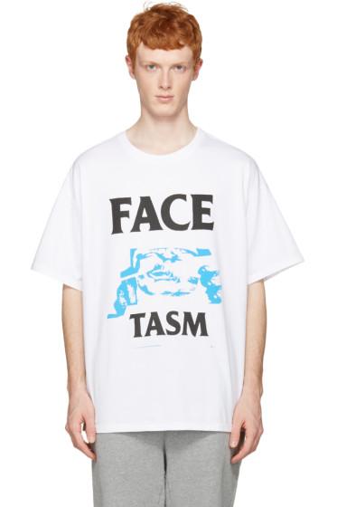 Facetasm - White Logo T-Shirt