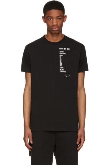 Hood by Air - Black Homepage T-Shirt