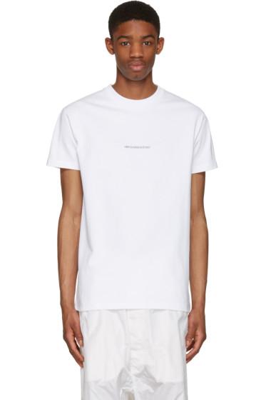 Hood by Air - White '2007' T-Shirt