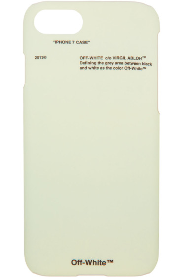 Off-White - Green Corporate iPhone 7 Case