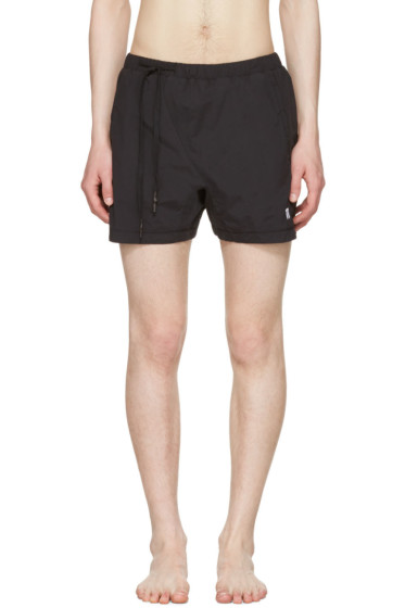 11 by Boris Bidjan Saberi - Black Nylon Swim Shorts