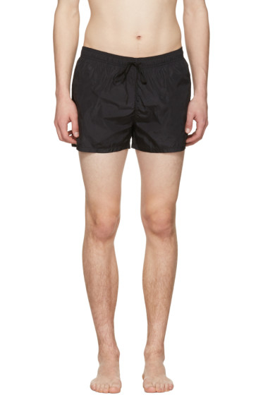Fendi - Black Logo Swim Shorts