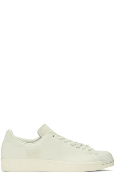 adidas Originals - Ivory Superstar 80s Clean Sneakers