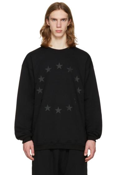 UEG - Black 'Finis Europae' Pullover