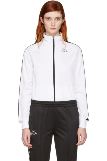Kappa - White Banda Aniston Track Jacket