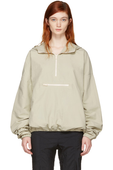 YEEZY - Green Pullover Jacket