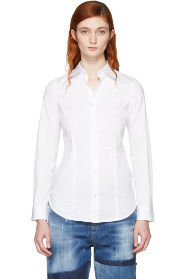 Dsquared2 - White Classic Poplin Shirt