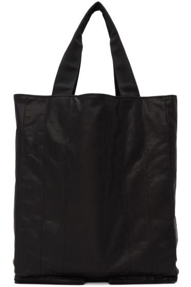 Maison Margiela - Black Leather Tote