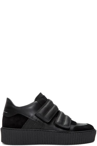 MM6 Maison Margiela - Black Platform Sneakers