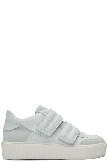 MM6 Maison Margiela - White Platform Sneakers
