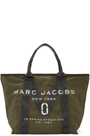 Marc Jacobs - Green New Logo Tote