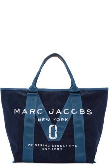 Marc Jacobs - Blue Denim New Logo Tote