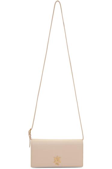 Alexander McQueen - Pink Insignia Pouch Bag