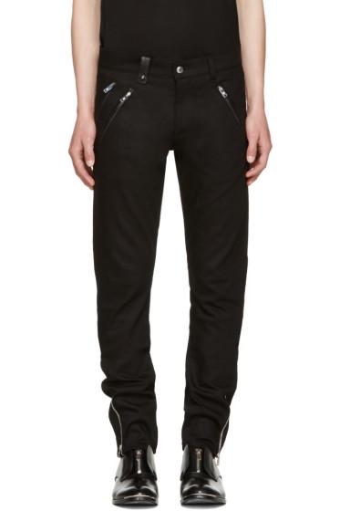 Alexander McQueen - Black Biker Jeans