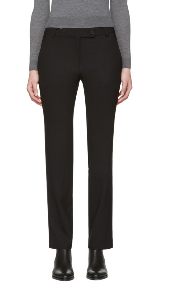 6397 - Black Stovepipe Trousers