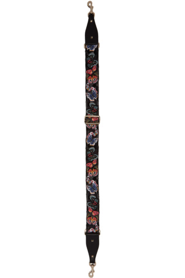Valentino - Black Butterfly Guitar Shoulder Strap