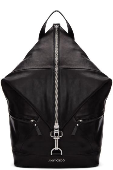 Jimmy Choo - Black Fitzroy Backpack