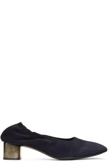Robert Clergerie - Navy Pixie Heels