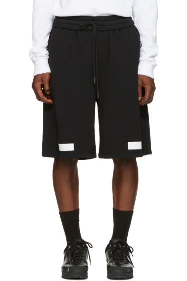 Off-White - Black Diagonal Arrows Shorts