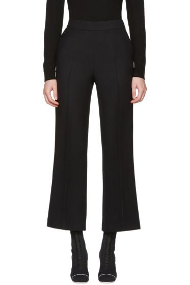 Fendi - Black Wide-Leg Trousers