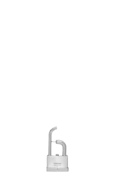 Ambush - Silver Single Padlock Earring 2